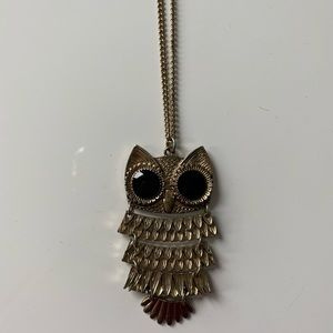 3 for $15 💜 Forever 21 owl necklace